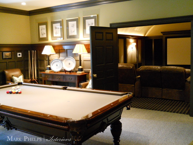 Traditional Pool Table English Style Decor A Room The Glam Pad - How To Mark Out A Pool Table