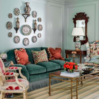 A Colorful and Charming Southern Abode