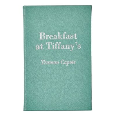 Breakfast at Tiffany's Leather Book