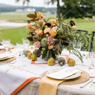 10 Tablescapes for Thanksgiving Al Fresco