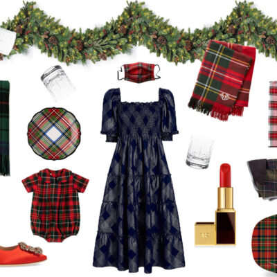 Don't Get Mad, Get Plaid: Festive Tartan For Giving and Hostessing
