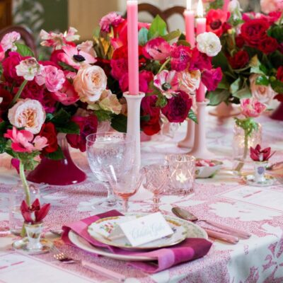 Valentine's Day Gifts and Tablescape Inspiration