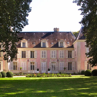 A Pink Château in France for Valentine's Day