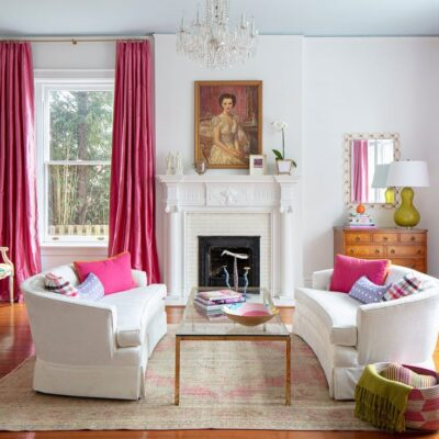 Dana Gibson's Colorful and Cheery Interiors