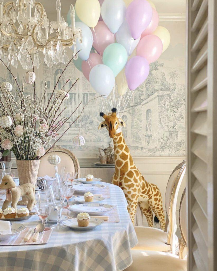 Jenny Bohannon, Tallwood Country House, tablescape birthday