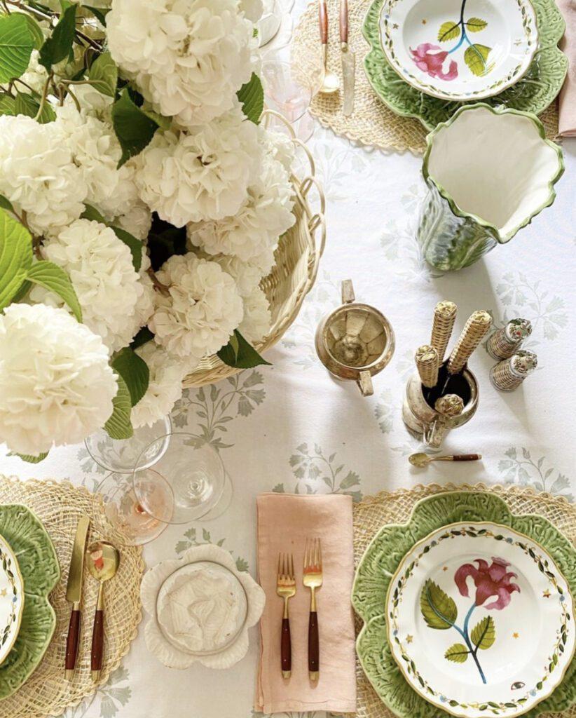 Jenny Bohannon, Tallwood Country House, floral arrangement, tabelscape