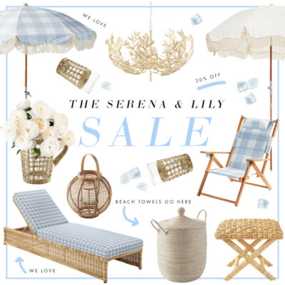 What We're Shopping From the Serena & Lily Memorial Day Sale