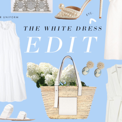 The Best White Dresses To Wear Now