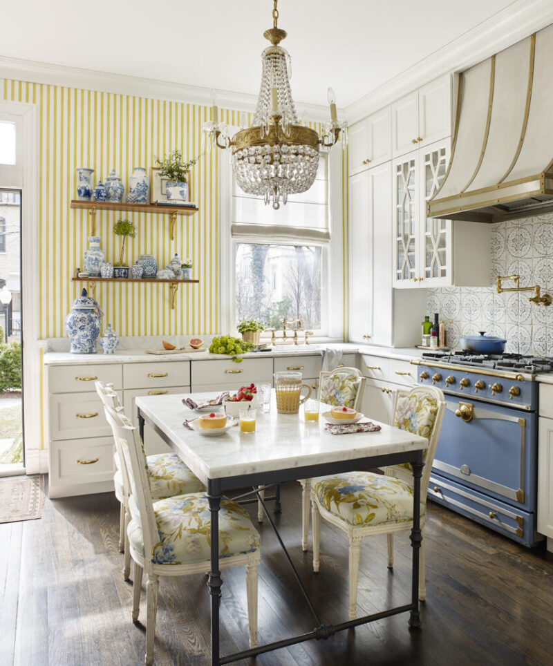 The Happiest Townhouse In Chicago, Holladay House Furniture
