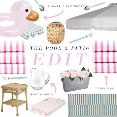 Summer Edit: Poolside and Patio Style