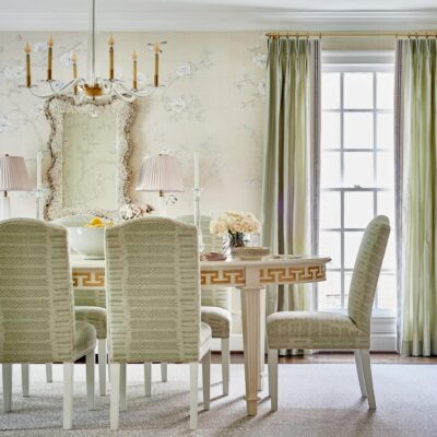 Think Pink for the Dining Room